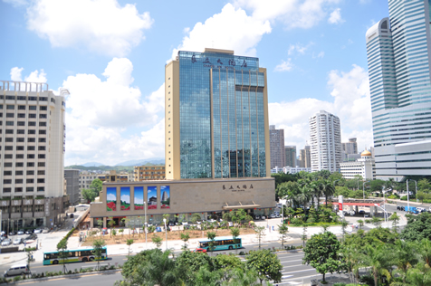 富贵娱乐公司所属深圳长安大酒店