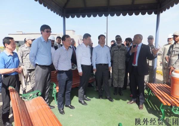 陕西省副省长杜航伟率领安全巡查团到集团巴基斯坦空军...
