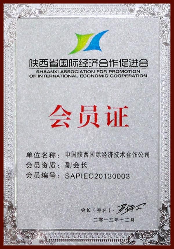 陕西省国际经济合作促进会会员