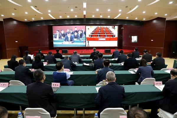 省国资委部署全省国资系统疫情防控 脱贫攻坚促进经济效益增长工作