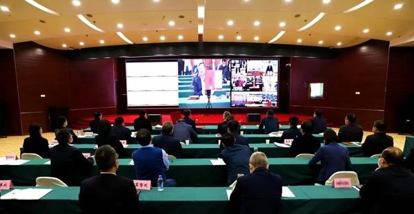 省国资委组织省属企业签订2020年度及2020-2022年任期经营业绩责任书